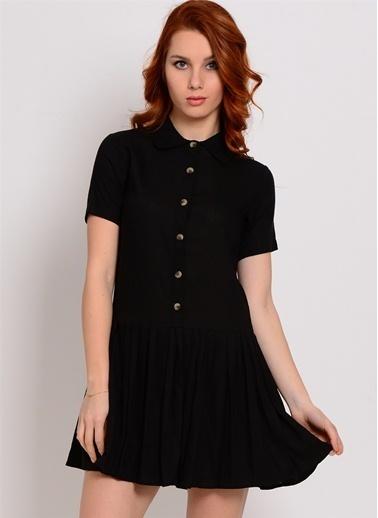 Pepaloves Elbise Siyah